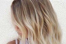 Baby blonde / Bebek sarısı, balyaj, baby blonde