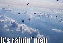 It's raining men ;) / Hottest men of all time.