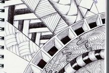 I'm keen on drawing  / Zentangle, or just some drawings I love ;)
