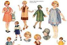 Vintage chidren clothes
