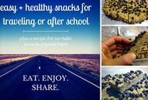 Simple Snacks / Snacks that are Paleo and dairy free. Simple ingredients for clean eating.