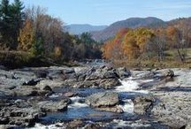 Adirondack Locations / My Frank Bennett #mystery series is set in the fictional #Adirondack town of Trout Run, NY. Here are some real locations that have inspired scenes in the #books.