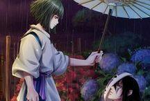 Miyazaki's works / Kiki, Spirited away, Nausicca, Howl's moving castle