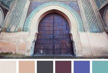 color palettes / For future reference(s) / by Marielle Ang