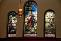 Tiffany Windows / My church, the Presbyterian Church in Morristown (NJ), has two gorgeous Tiffany stained glass windows. I'm interested in seeing as many others as possible.