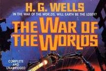 "The War of The Worlds / Activities, videos, and facts about Mars, all relating to ""The War of the Worlds"" by H. G. Wells. / by STEM Read"