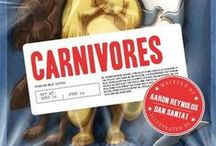 "Carnivores / Learn more about carnivores, herbivores, and omnivores after reading ""Carnivores"" by Aaron Reynolds. / by STEM Read"