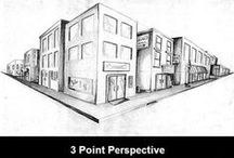 Foreshortening & Perspective / for future reference(s) / by Marielle Ang