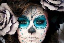 Inspiración Halloween / Dia de muertos / Un tablero para las fiestas de disfraces que poco a poco se aproximan