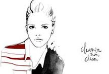 Fashion Illustration / Beauty in line and brush