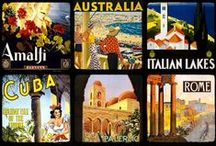 Around the world posters / by Cristabelle Chaverri