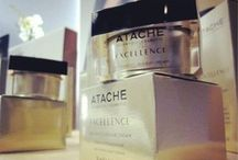 Gold Inspiration / ATACHE presents EXCELLENCE, exclusive and innovative global anti-aging treatment, inspired by advanced Scientific Cosmetic researchs on the action of telomerase activators in prolonging the youth of skin cells and delaying the onset of the aging process.