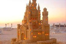 Arcydzieła z piasku :) / #sandcastles #castle #sand #art  Czyli niesamowite piaskowe budowle z całego świata!