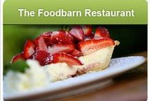 The Foodbarn Restaurant / Fine dining for lunch and dinner with kids or dogs or even bare feet at Noordhoek Farm Village