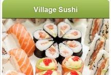 Village Sushi / The Noordhoek Farm Village is reknowned for its great restaurant offerings but us Capetonians all love sushi and this was missing from the superb farm village mix.