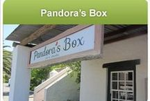 Pandora's Box /  This new store at Noordhoek Farm Village features gifts and collectables and is a box full of desires, decadence and dare we say it INDULGENCE!