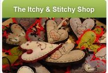Itchy & Stitchy Shop / A fusion of traditional craft techniques and contemporary design