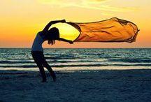 Zachody słońca :) / #sun, #west, #sunset, #beach, #water, #sea, #ocean Czyli piękne, wieczorne chwile, nie tylko nad morzem!