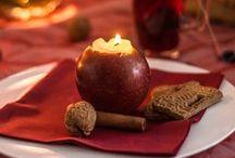 Romantische Weihnachtsdeko | DIY / Uns hat die Weihnachtsstimmung nun endlich gepackt und wir haben uns ein paar romantische Dekoideen für Euer Fest einfallen lassen. Welche gefällt Euch am besten? Alle Materialien zum Nachgestalten findet Ihr übrigens hier: http://bit.ly/1zU4AQh