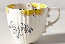 도자기 Tea Time Pottery - Antique & Vintage Pottery / by Dal Van