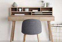 Inspiration for my home - Work space / Great ideas for creating a comfortable and creative workspace