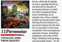 11PARANOIAS 'Stealing Fire From Heaven' reviews / Stealing Fire From Heaven is the third release from 11PARANOIAS, following on from their 2013 offering Superunnatural, and Spectralbeastiaries which was released in March 2014.
