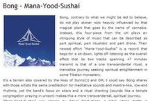 Bong 'Mana-Yood-Sushai' reviews / Following their 2011 masterpiece Beyond Ancient Space, Bong prove to be ever-prolific with their latest offering, a brand new album entitled, Mana-Yood-Sushai. Recorded, mixed and mastered in just two days in December 2011, this marks the first time Bong have entered a professional studio and recorded with an engineer. At the helm was Greg Chandler of Esoteric.