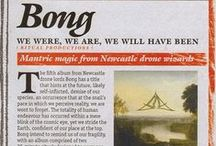 """Bong 'We are, we were and we will have been' reviews / """"We are, we were and we will have been"""" continues Bong's unregulated experiments on tonal prolonging. Solemn in its delivery and frightening in its implications, this latest album signifies a point of no return from the Pied Pipers of mesmeric drone, its two near twenty minute tracks will surely loop and envelop indefinitely, freeing the listener from this increasingly unfamiliar material world and mercifully trapping them in the weightlessness of Bong's sonic void."""