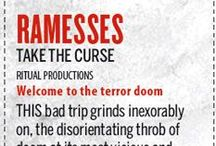 """Ramesses 'Take The Curse' reviews / Much awaited, second full length epic from Ramesses featuring ten tracks filled with majestic riffs and mournful harmonies. The artwork, courtesy of Jake and Dinos Chapman's masterpiece """"Fucking Hell"""", provides a visual feast with exquisite gloss packaging, 2 alternative covers, die cut."""