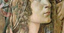 volti nell'arte / le immagini maschili o femminili, giovani o vecchi