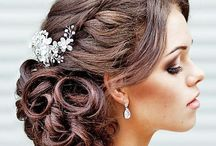 Hochzeit Braut Haare + Make Up