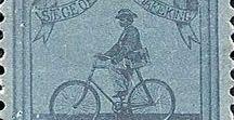 Bicicletta: i francobolli