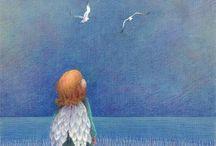 Angel... / Κι όμως  Άλλη σιωπή κάνει όταν με σκέφτεσαι Κι άλλη όταν με ξεχνάς Γ. Κυριαζής