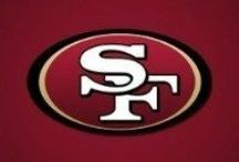 SF 49ers /  The Empire / Exciting time being a Niner fan. Showing their logo in about everything, the players, Kaepernick in Suit and Tie, front cover or Kaepernicking. The Legacy of Bill Walsh, past heros and farewell to Candlestick Park. / by J SANCHEZ