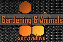 Gardening and Animals