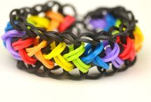 Rainbow loom patterns for the kids / by Kristi
