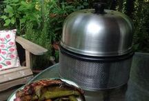 COBB BBQ GRILLS / Cooking on the COBB Portable Outdoor Charcoal Cooking System wherever you are! MORE INFO: www.cobbgrillamerica.com  Grilling, Smoking, Roasting, Baking, Frying, Boiling and Slow cooking. Back yard entertaining and outdoor living. Economical and Efficient. Survival tool. Stainless Steel. Dutch Oven / Potjie cooking on the COBB. Innovative award winning design. Built to last.