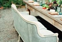 Outdoor Wedding Receptions / Collected Inspiration pics
