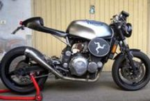 Bikes Triumph T3 / Collecting ideas for a bobber (cafe racer) project based on Triumph T3