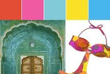 Jaipur - Collection / Explore the Post-it Jaipur Colour Collection with colours that draw upon the food, art and culture of India. / by Post-it® Brand Canada