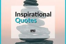 Inspirational Quotes / Some inspirational quotes to give some inspiration, encouragement and light in the day. Enjoy :)