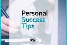 Personal Success Tips / Some great info and tips to help you become more effective in your personal life and everyday hustle.