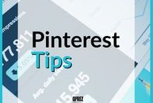Pinterest Tips / Some helpful tips to grow your business thru Pinterest. Also, tips to help grow and improve your Pinterest profile.