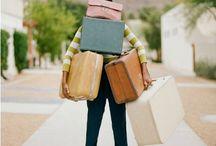 Pack my bags! / Destinations to seek. / by Diane Weygandt