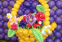 Work smarter with Quick Link Balloons™! / Create impressive, frameless decor with Qualatex Quick Link Balloons!  The revolutionary design ensures the balloon maintains a uniform shape regardless of which ends are tied together. Whether you use air or helium, the possibilities are endless.  http://www.qualatexquicklinks.com