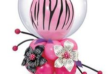 Pink, Glitter and Zebra Girly Birthday Party / What does a little girl want for her birthday party? Pink and zebra? Glitter and sparkle? Is she a princess or a ballerina? Does she like cupcake or fashion? We have got you covered with balloon decoration and delivery ideas. Find a balloon professional for your party on Qualatex.com