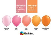 Colorama by Qualatex / We are crazy for colors and this is why we created so many beautiful balloons for every taste and every occasion. Have a neon party or a pastel toned baby shower? We have ideas for you, including the trendy Color of the Year! Send a rainbow bouquet as a gift or multi-colored get well wishes. You can make somebody smile today!