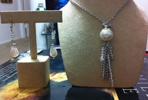 Jewelry / Homemade pieces of art / by Rebecca Tindall-Reyburn