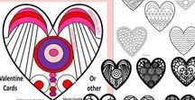 Valentine's Day / Educational, party, crafts, and gift giving ideas for Valentine's Day.