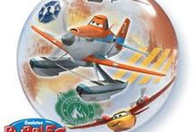 A birthday bash inspired by Disney Planes / Let's live an adventure with the characters from the new Disney Planes: Fire and Rescue movie! It's a great theme for your next play date or birthday party. Ask a balloon professional to help you to transform the venue or entertain the guests. Disney licensed characters balloons by Qualatex will make great gifts and deliveries and can help create the perfect decor to celebrate.